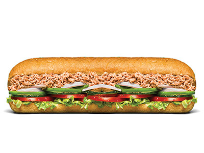 Tuna Footlong Sandwich