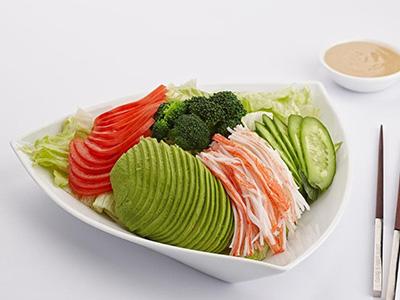 Avocado And Crab Stick Salad