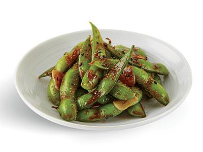 Hot Spicy Edamame