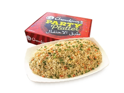 Egg Fried Rice Party Platter