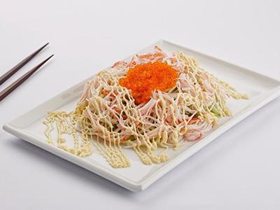 Cucumber Crabstick Salad