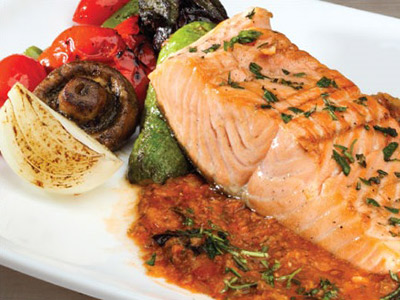 Roadhouse Salmon Platter