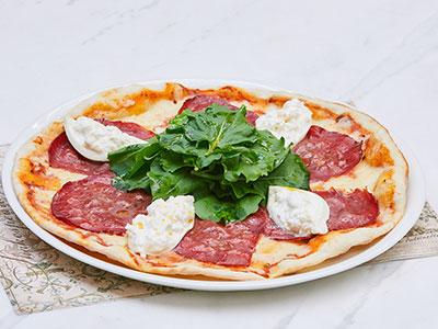 Bresaola And Burrata Pizza