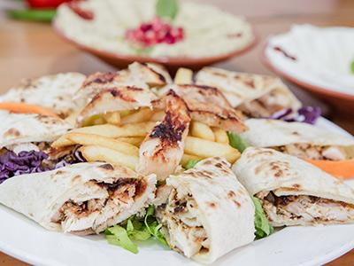 Arabic Shawarma Saj Bread