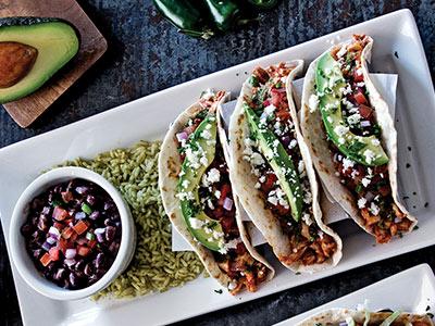 Chicken Ranchero Tacos