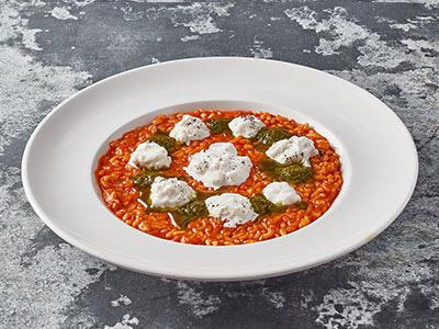 Risotto With Tomato And Burrata