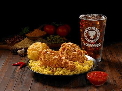 Kabsa Rice Meal 3 Pcs Tender