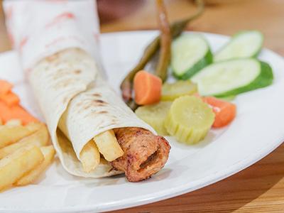 Chicken Kabab Sandwich