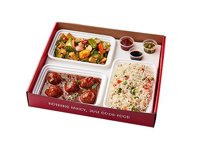 Chinese Vegetarian Meal Box