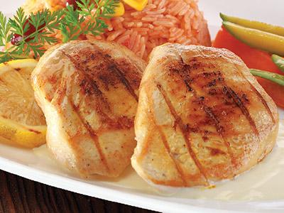 Crusted Chicken Platter