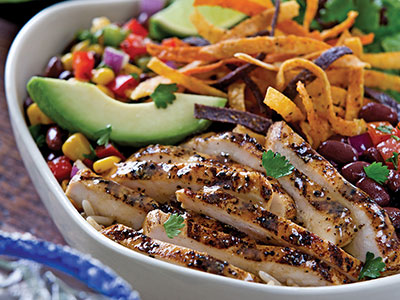 Margarita Chicken Fresh Mex Bowl