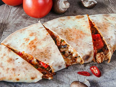 Pizza Quesadilla Chicken