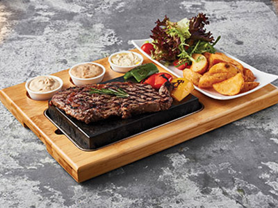 Bisticca Di Manzo - Grilled Rib-eye Steak