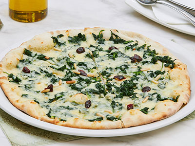 Blue Cheese And Spinach Pizza