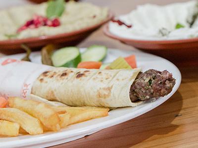 Lamb Kabab Sandwich