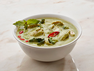 Spicy Chicken In Thai Green Curry