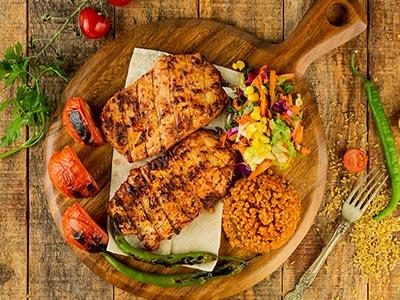 Chicken Tenderloin Plate