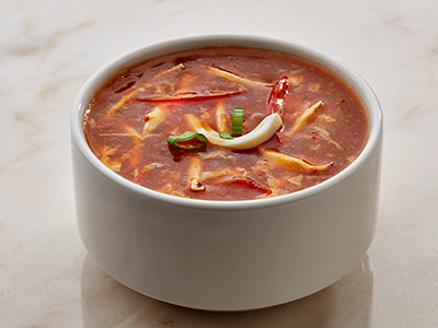 Spicy Hot N Sour Soup - Chicken