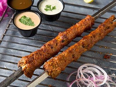 Beef Seekh Kebab Bbq