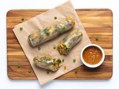 Vegetarian Vietnamese Spring Rolls