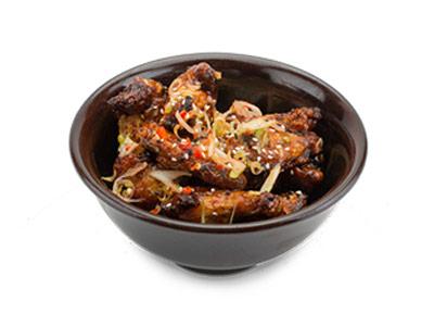 Suribachi Chicken Wings