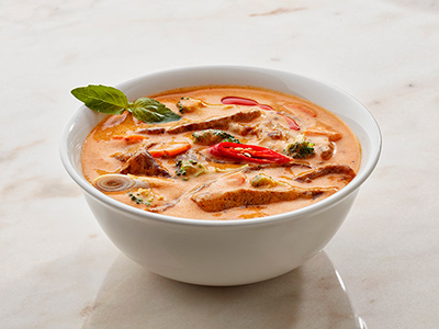 Spicy Chicken In Thai Red Curry
