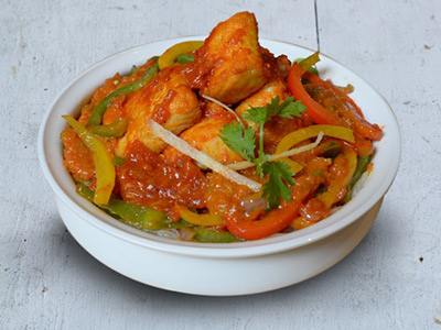 Fish Jalfrezi