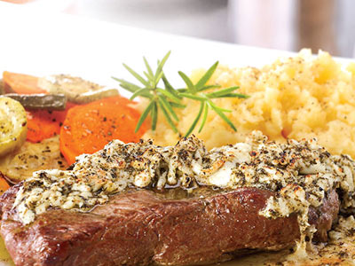 House Steak With Mozzarella Platter