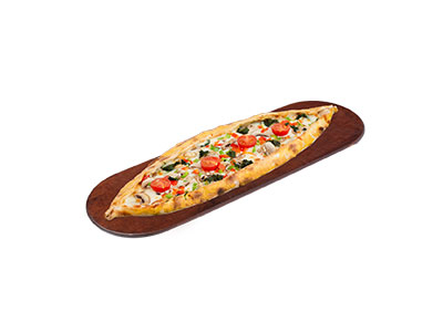 Vegetable And Cheese Pide