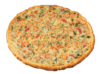 Seafood Florentine Medium Pizza