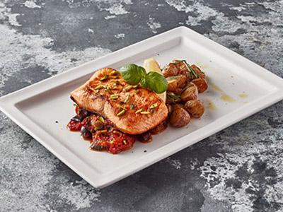 Salmone In Padella - Pan-roasted Salon