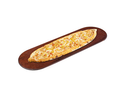 Cheese Pide With Potato