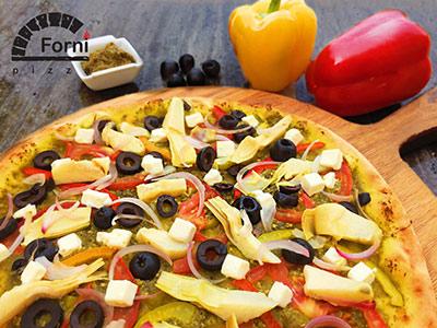 Medium Pesto Pizza