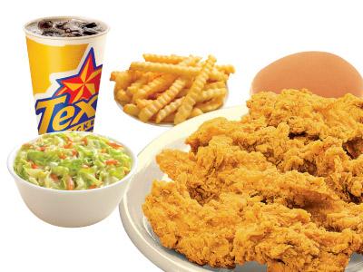 4 Tenders Meal Original