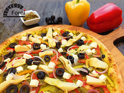 Large Pesto Pizza