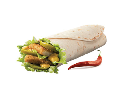 Spicy Chicken Snack Wrap