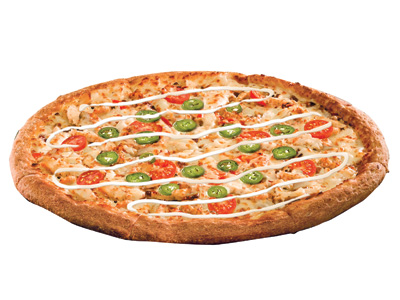 Spicy Chicken Ranch Pizza Small Pizza
