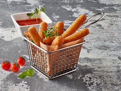 Deep Fried Mozzarella Sticks