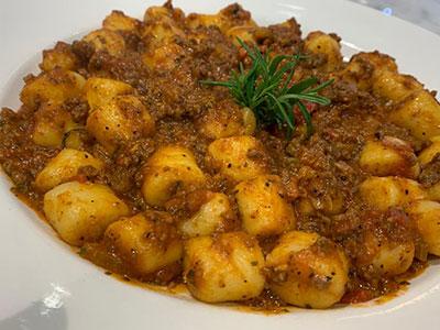 Gnocchi Bolognese Sauce
