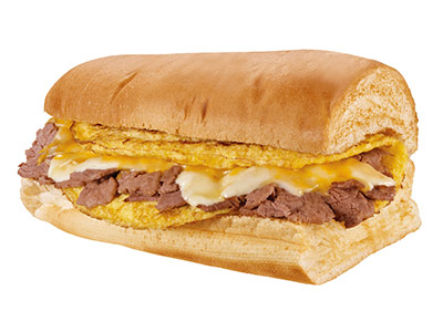 Steak Egg And Cheese 6 Inch