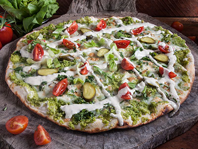 Falafel Pizza