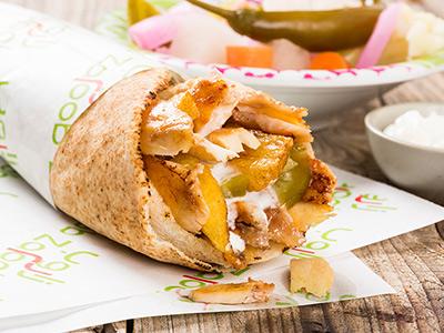 Chicken Shawarma Sandwich Leb