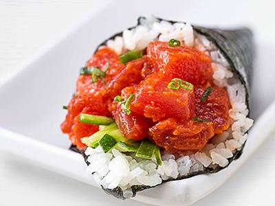 Spicy Tuna Temaki Hand Roll