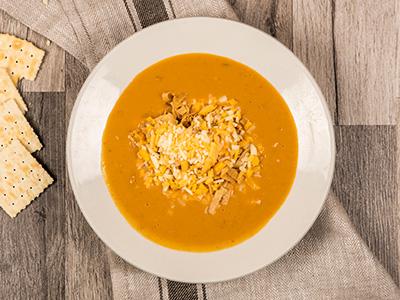 Chicken Enchilada Soup - Bowl