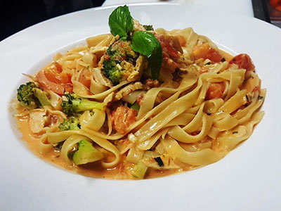 Fettuccine Broccoli