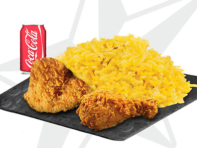 2 Pcs Chicken Meal Orginal
