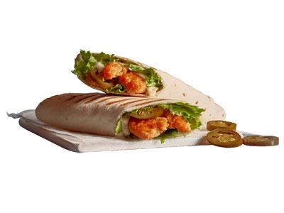 Shrimps Wrap Sandwich - Spicy