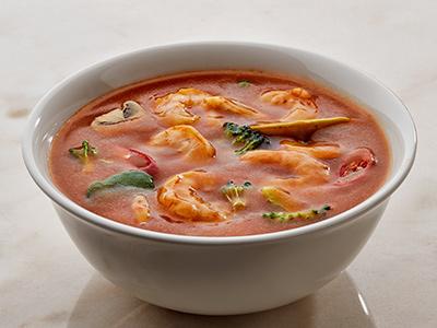 Spicy Tom Yum Soup - Prawn