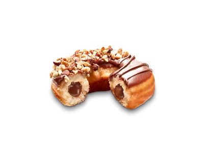Nutty Cocoa Filled Ring