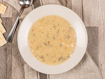 Chicken Mushroom Soup - Bowl